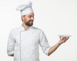 男性料理人