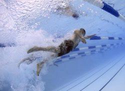 持田香織さんの水泳